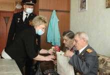 В Карталах полицейские навестили ветерана