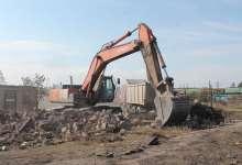 В Джабыке построят новые дома: первые колышки вбиты
