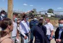 В Джабык прибыл полпред президента РФ в УрФО Владимир Якушев