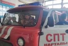 Карталинские дошколята пожарными стать хотят