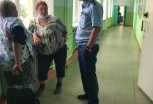 Прокурор пообщался с эвакуированными