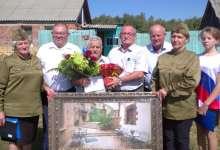 Глава района поздравил ветерана